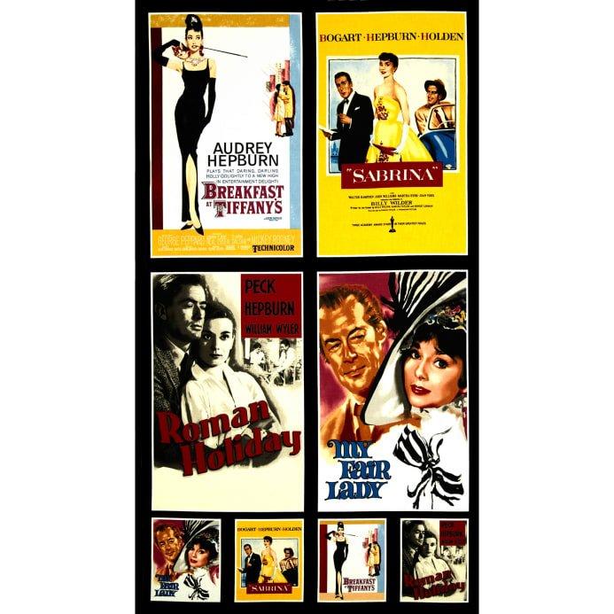 Robert Kaufman Hollywood Icons Multi Panel