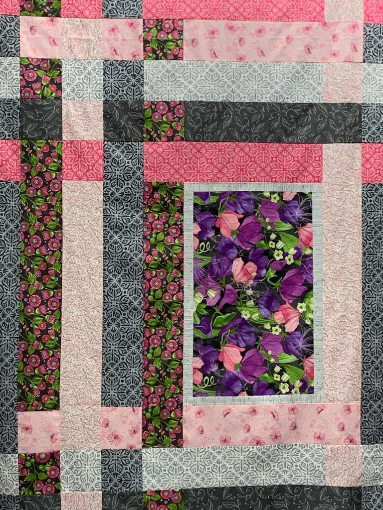 Modern Weave Sweet Pea & Lily Purple Kit