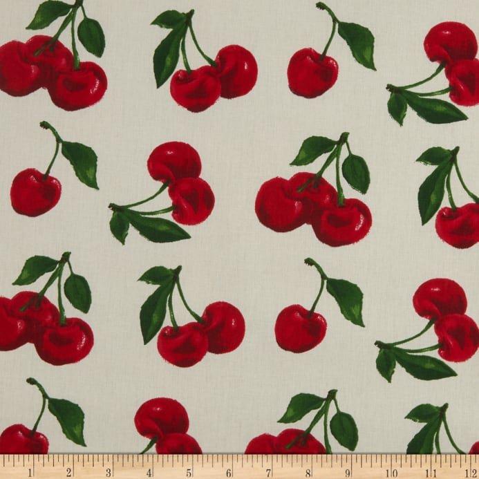 STOF Fabric Cherries