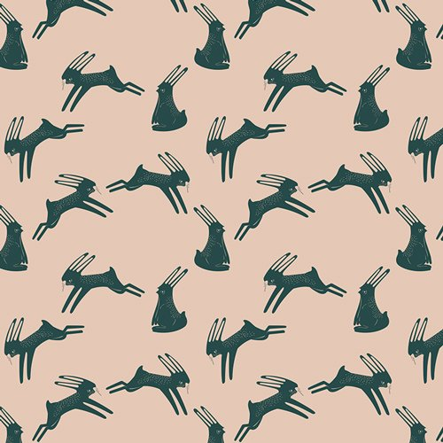 Art Gallery Capsules Campsite Hopping Hare