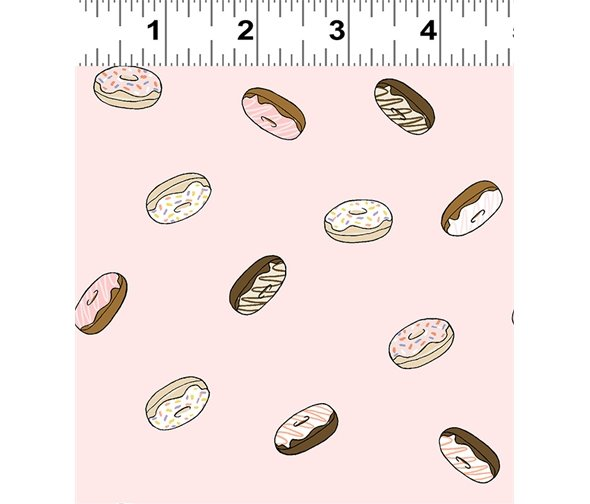 Clothworks Coffee Lover Y2553-41 Light Pink