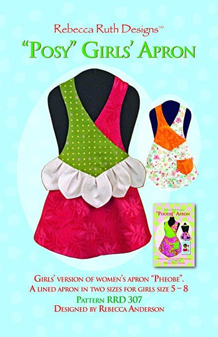 Rebecca Ruth Designs Posy Girls' Apron