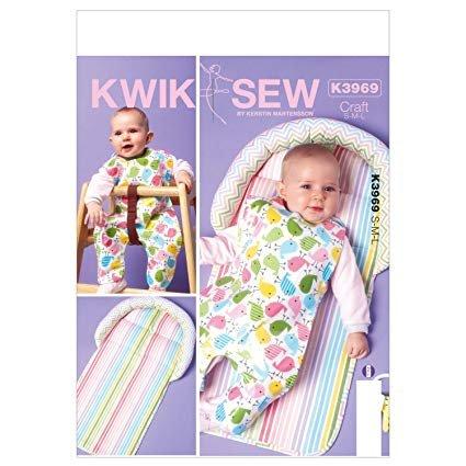 Kwik Sew K3969 Changing Pad & Bib