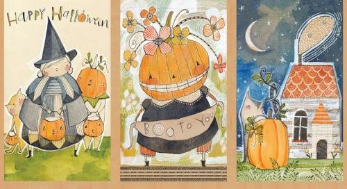 Blend Cori Dantini Spooky Town Panel 112.110.01.1