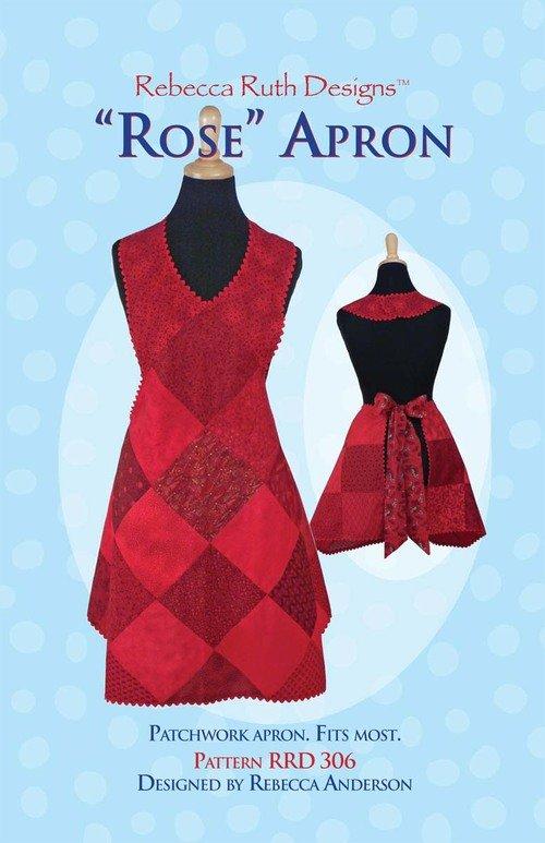 Rebecca Ruth Designs Rose Apron
