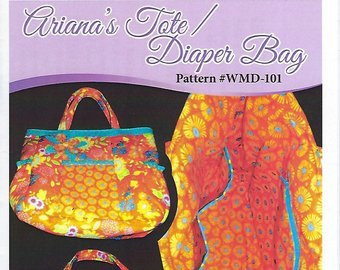 Wonky Momma Designs Ariana's Tote/Diaper Bag