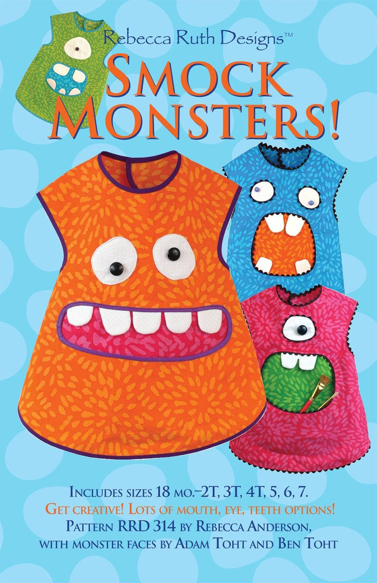 Rebecca Ruth Designs Smock Monsters