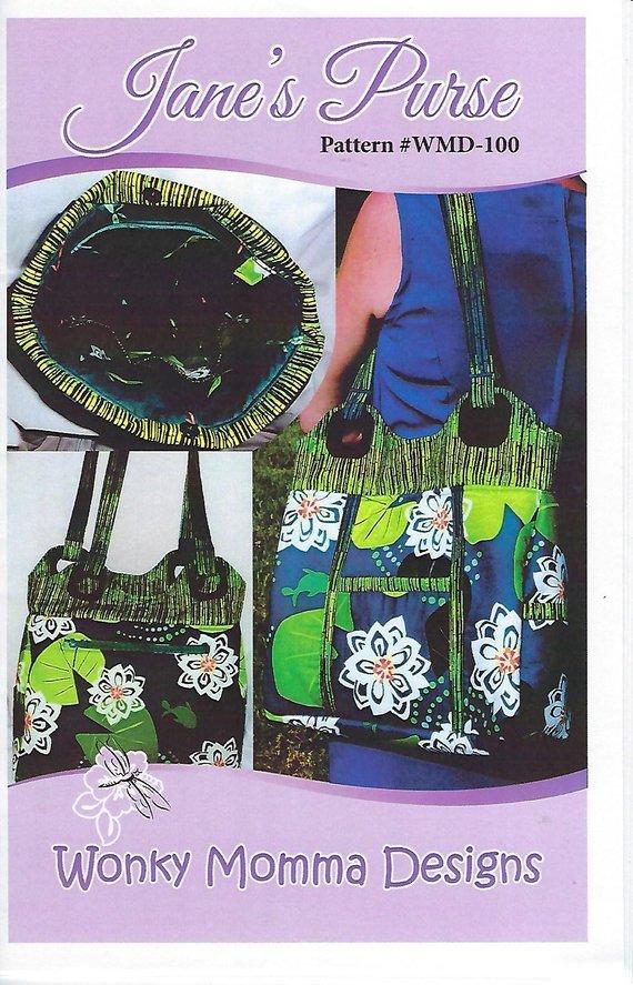Wonky Momma Designs Jane's Purse