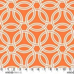 Michael Miller Swirl Tangerine 55/56