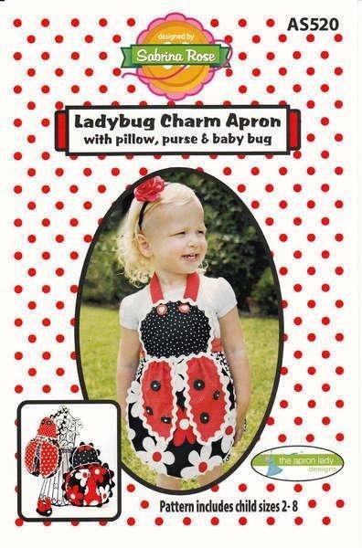 The Apron Lady Ladybug Charm Apron