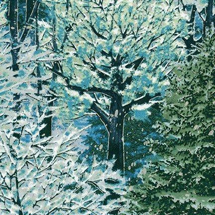 Robert Kaufman Nature's Window Metallic Evening 18462-80