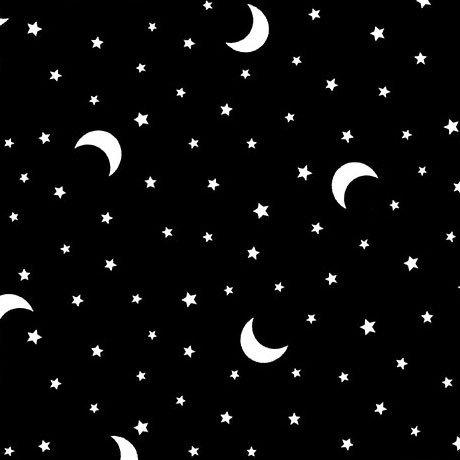 Michael Miller Hocus Pocus CG9742-GLOW-D Boo Moon Glow