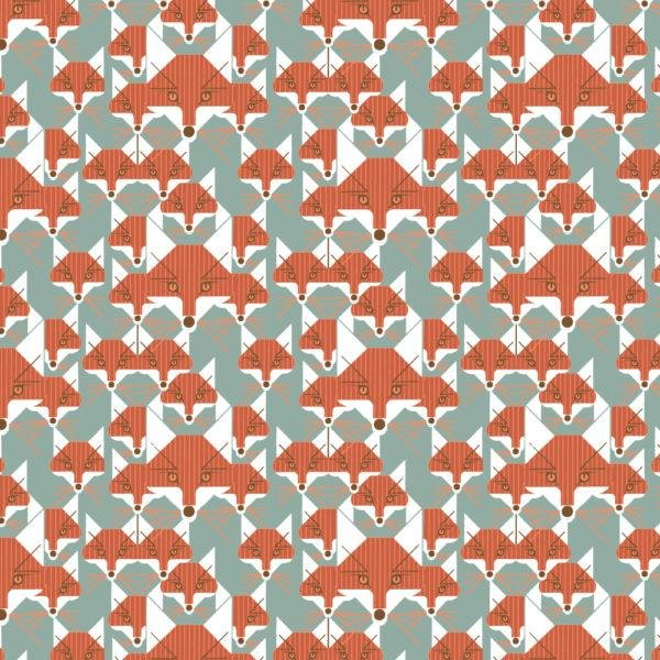 Birch Fabrics 100% Organic Cotton Best of Charley Harper Foxsimilies