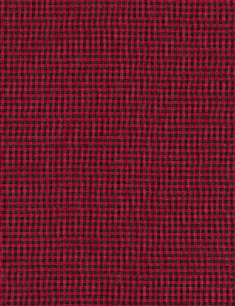 Timeless Treasures CHECK-CF7065 Red Plaid Flannel