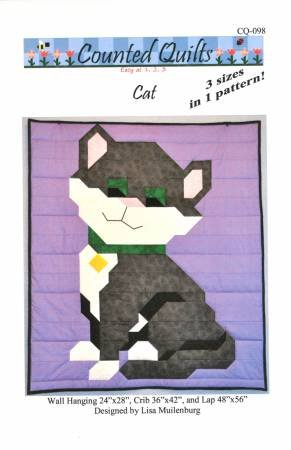 Counted Quilts Cat