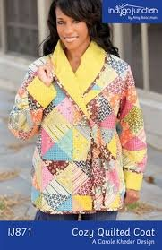 Indygo Junction Cozy Quilted Coat