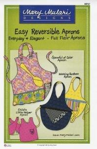 Mary Mulari Designs Easy Reversible Aprons
