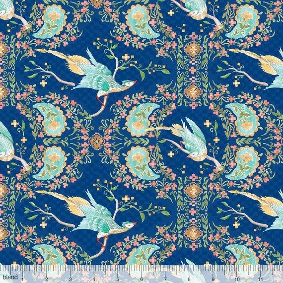 Blend Ana Davis Wildwood- Pheasant Blue
