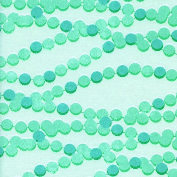 Cotton + Steel Melody Miller Trinket Candy Necklace Aqua
