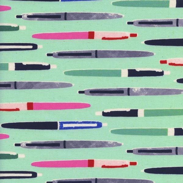 Cotton + Steel Melody Miller Trinket Pens Mint