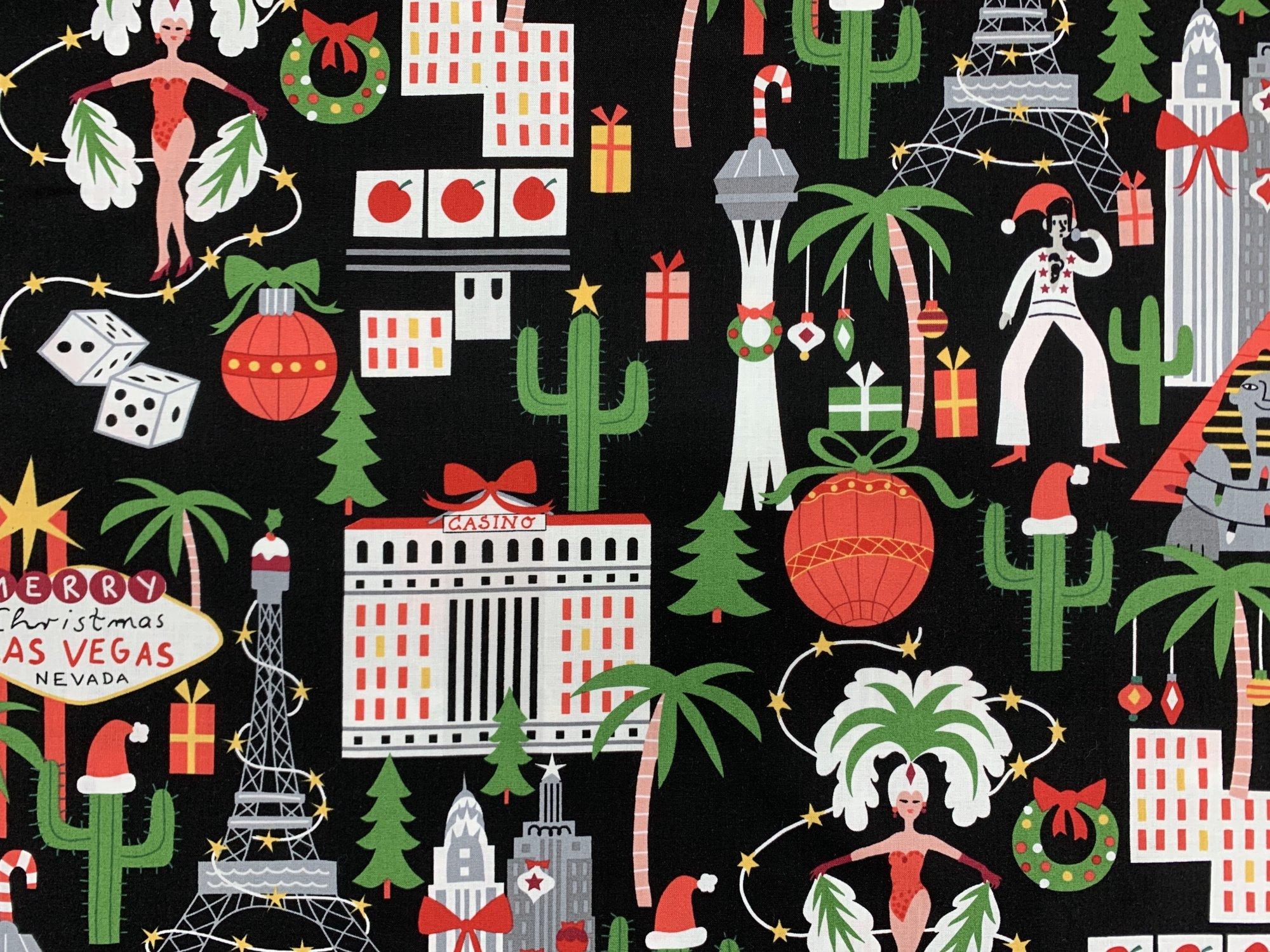 Alexander Henry Christmas Time Viva Vegas Holiday-8838B