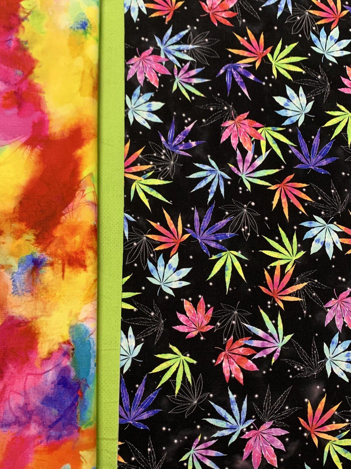 Rainbow Cannabis Pillowcase Kit