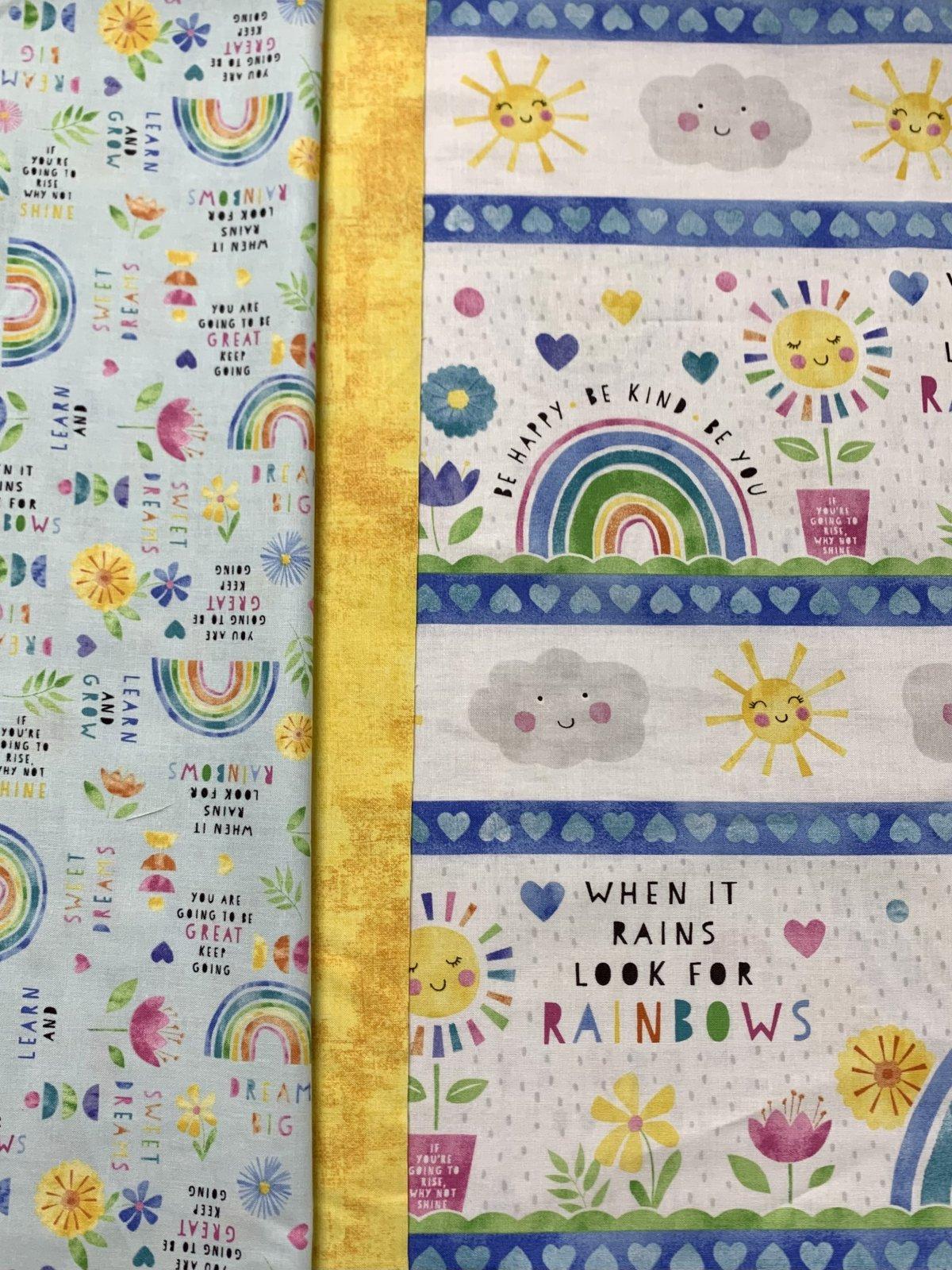 Wilmington Rainbow Pillowcase Kit