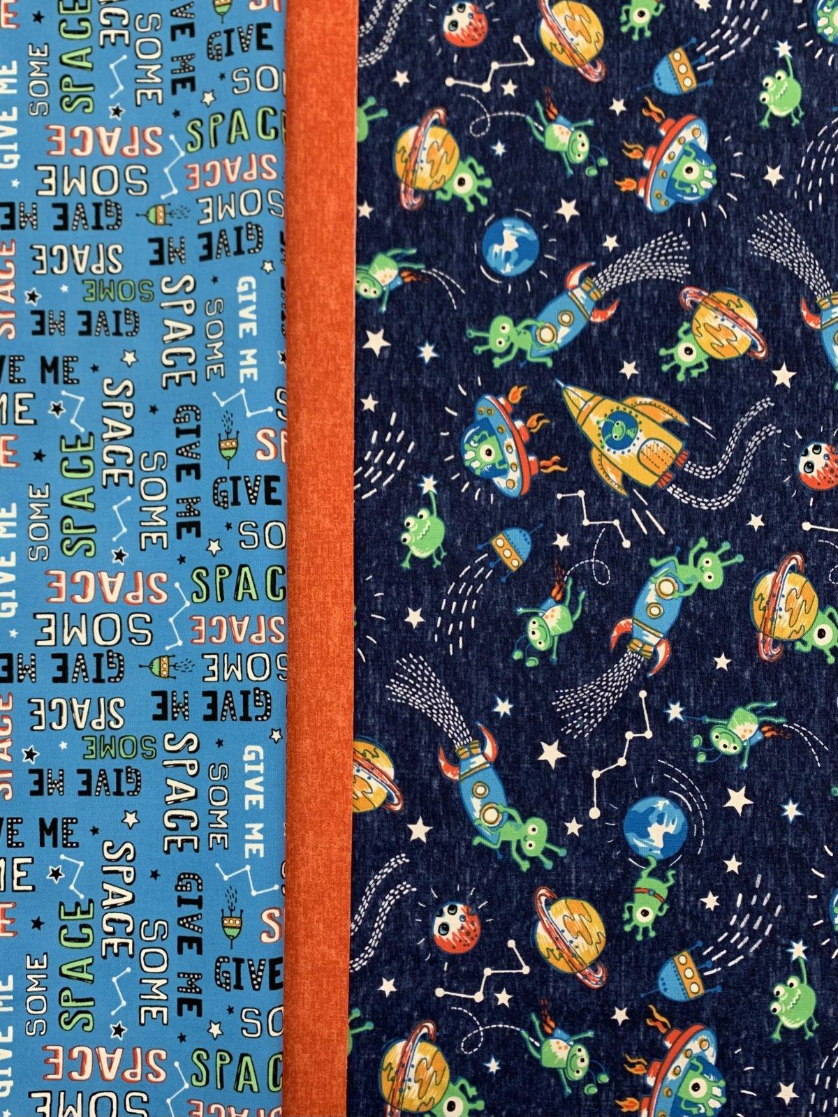 Michael Miller Space Oddity Pillowcase Kit