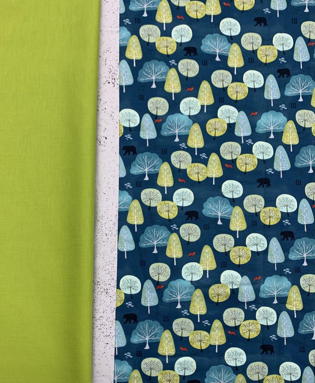 Moda Lakeside Story Pillowcase Kit (Blue)