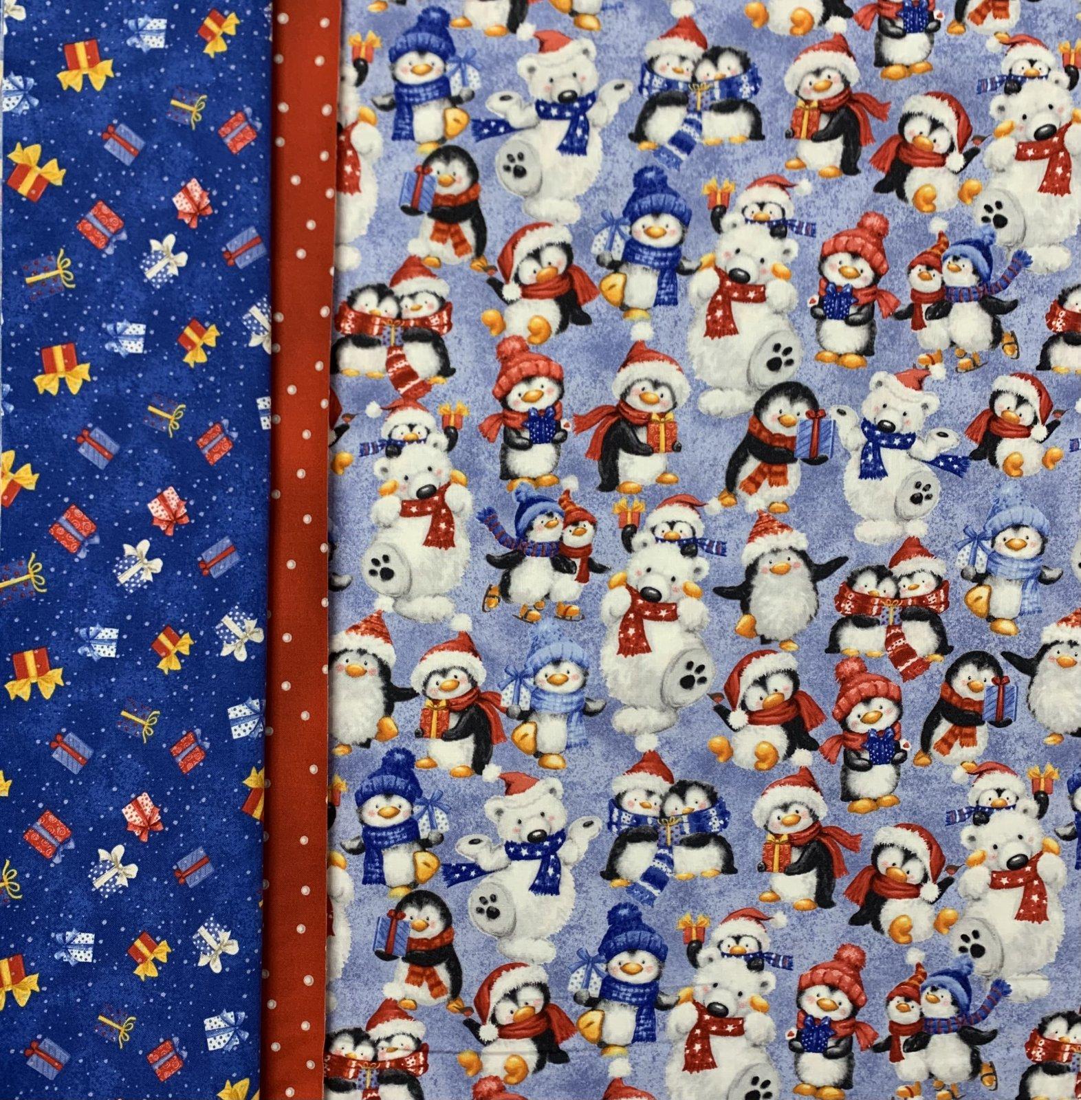 Snow What Fun Pillowcase Kit (Blue)