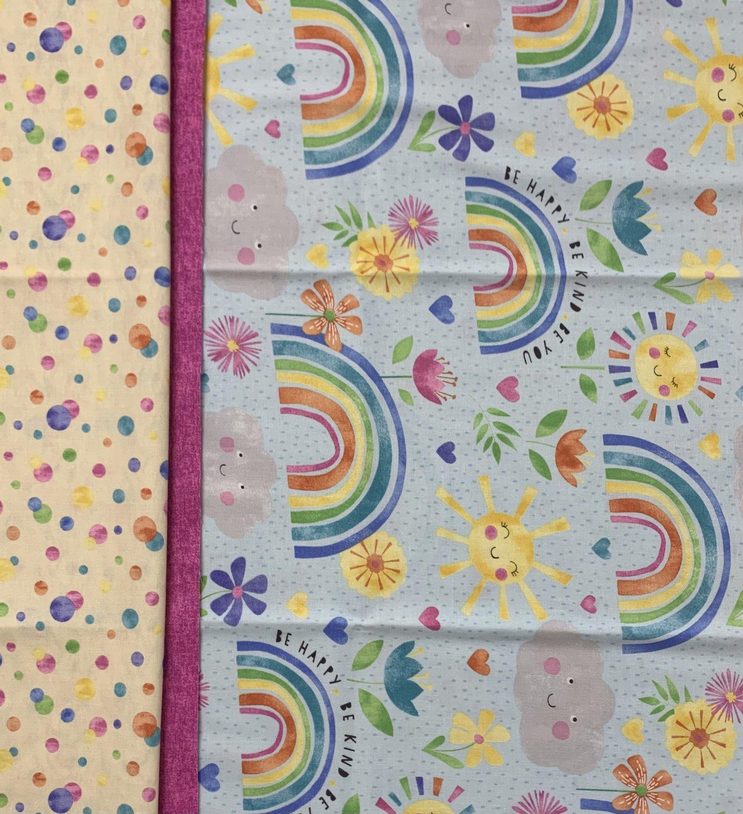 Rainbows & Sunshine Pillowcase Kit