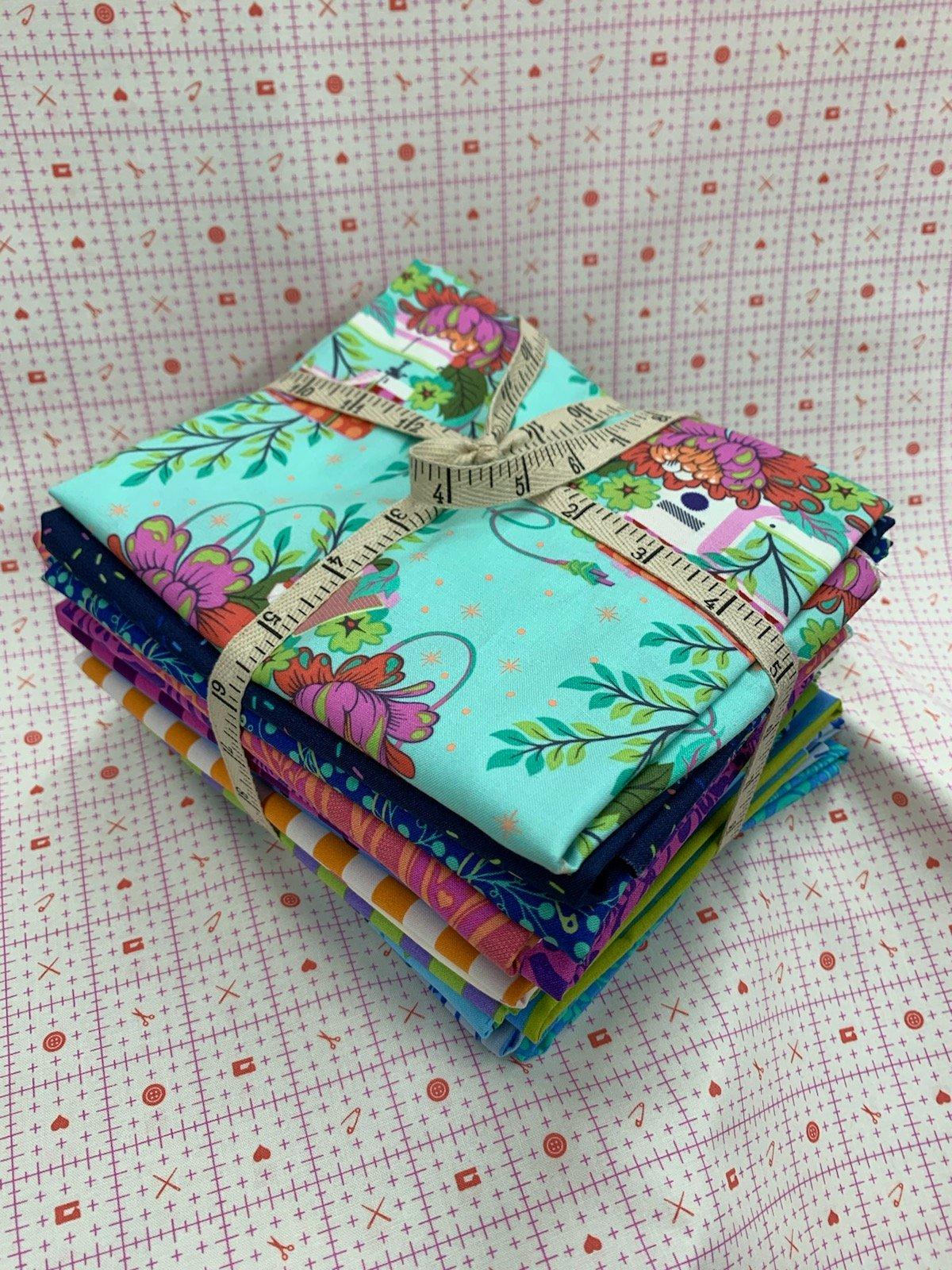 Free Spirit Tula Pink HomeMade Half Yard Bundle