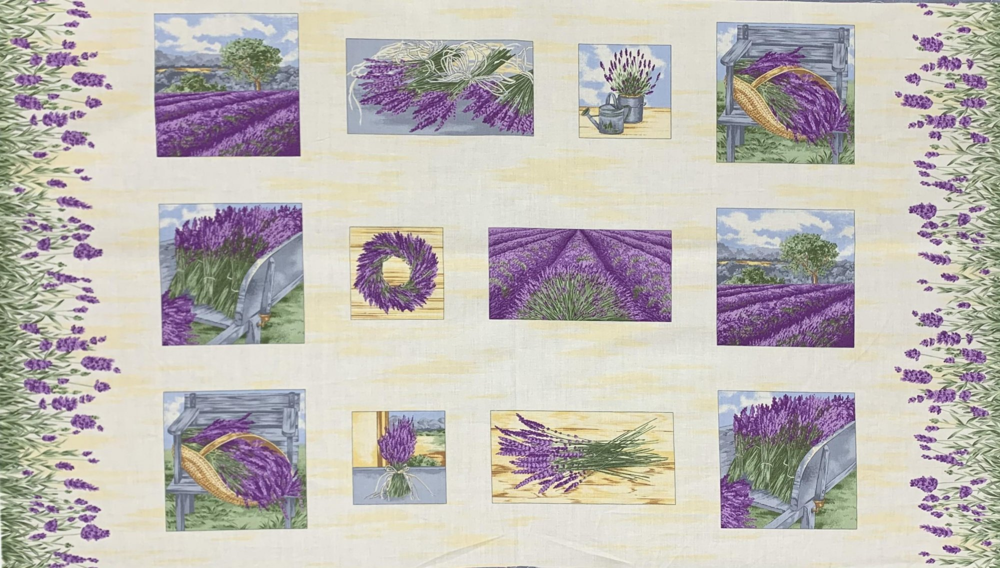 Andover Lavender Bliss A-5775-P Panel