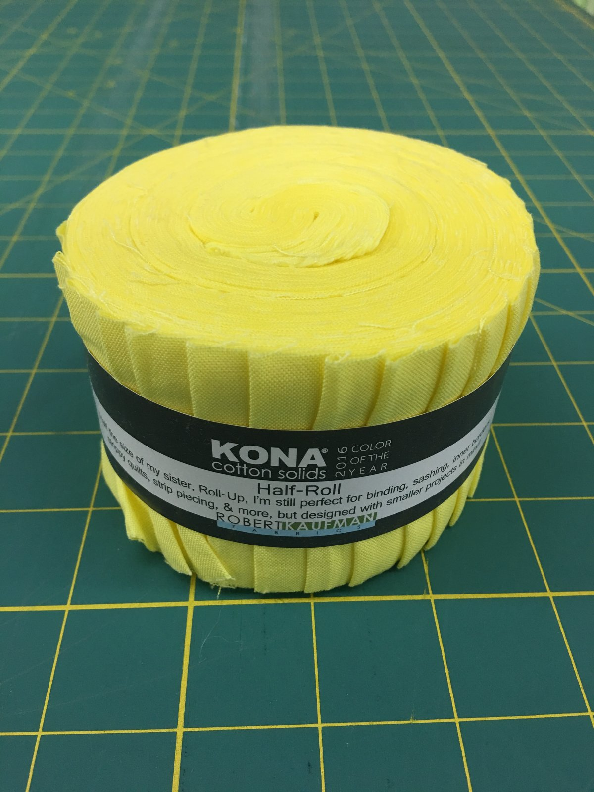 Kona Cotton Color of the Year 2016 Half Roll