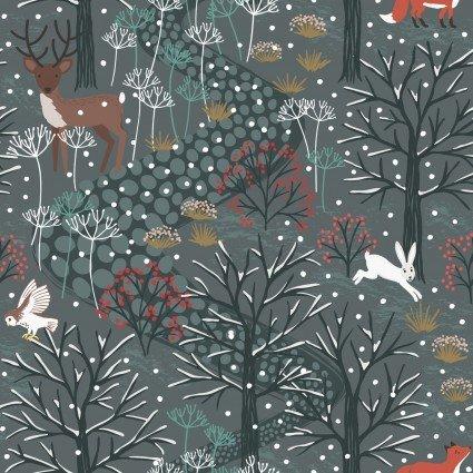 Lewis & Irene Winter in Bluebell Wood C42-3