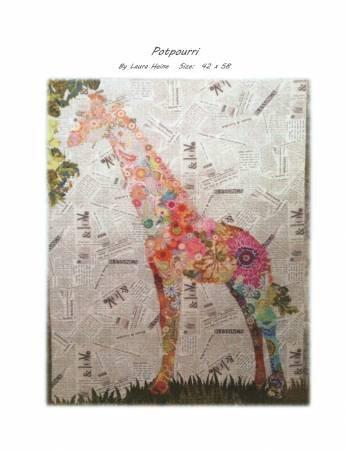 Fiberworks Potpourri Giraffe Collage