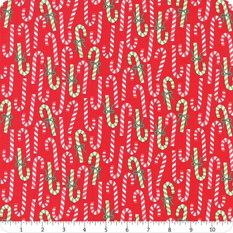 Moda Merry and Bright Poinsettia Red 22402 11