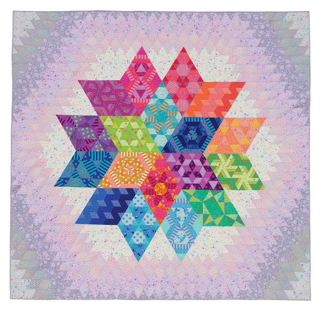 Free Spirit-Jaybird Quilts-Tula Pink Nebula Block of the Month Quilt Kit