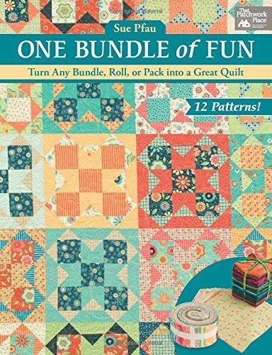 Sue Pfau One Bundle of Fun- 12 patterns