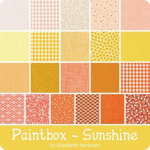Robert Kaufman Paintbox 10 Squares Sunshine, 42pcs