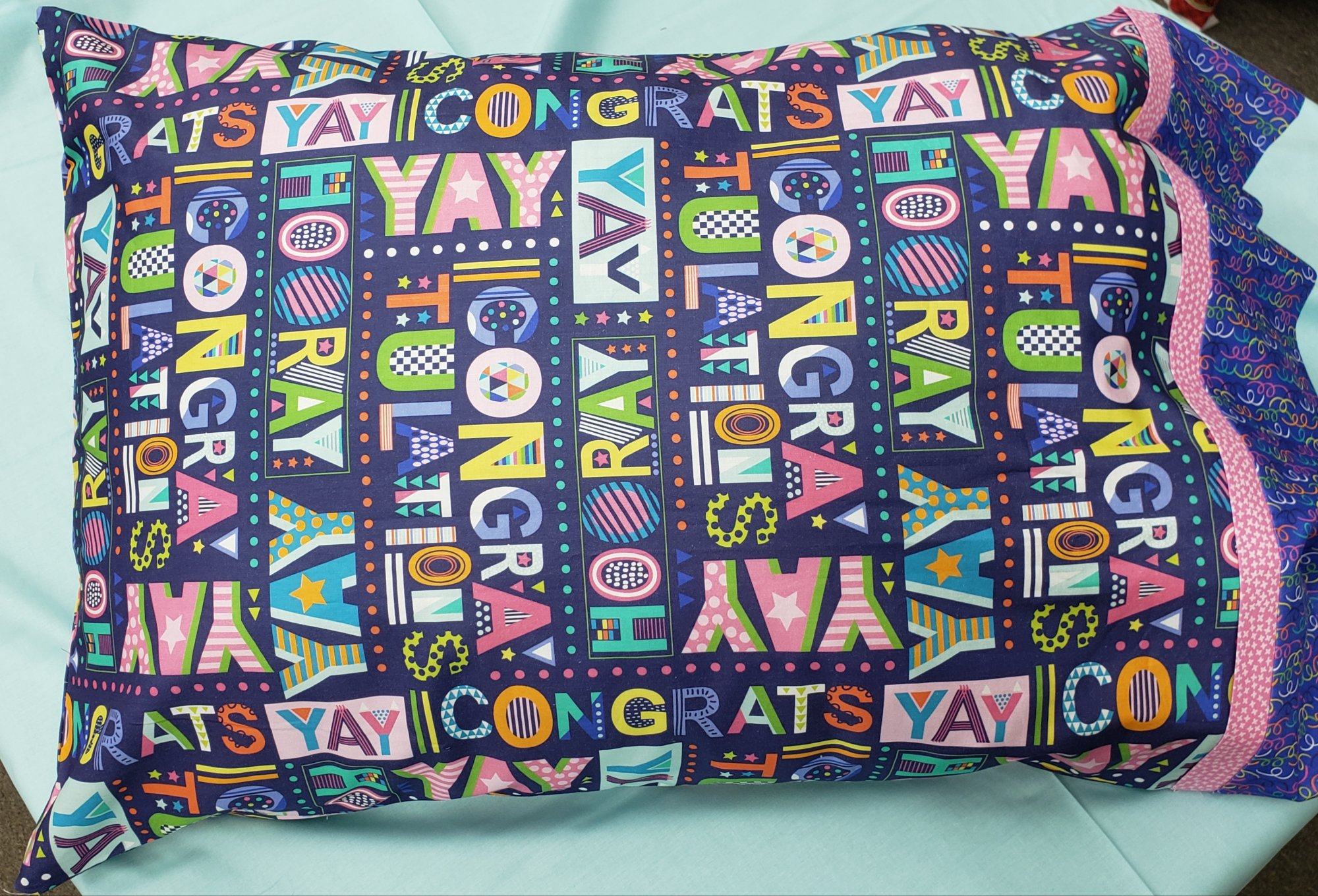 Blend Hip Hip Hooray Graduation Pillowcase Kits