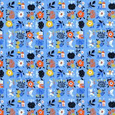 RJR Fabrics Everything But The Kitchen Sink XII - Farm Fresh - Pond