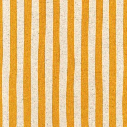 Robert Kaufman Sevenberry Canvas Natural Stripe SB-88187D3-6 GOLD