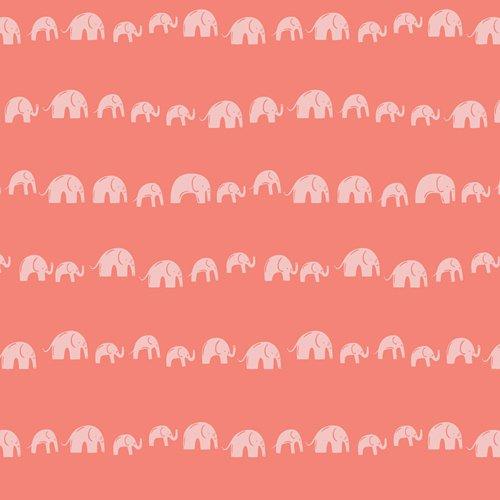 Art Gallery Selva-  Elephants Echo Earthy