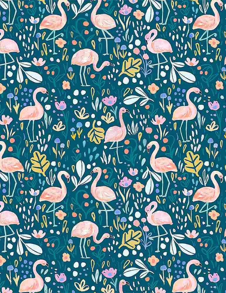 Dear Stella Summer Lovin' DCJ1740 Multi Flamingo Fling
