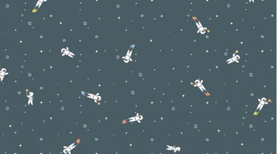 Dear Stella Astronauts Flannel