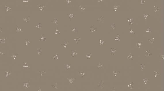 Dear Stella Knit Triangle Dot Pebble 57