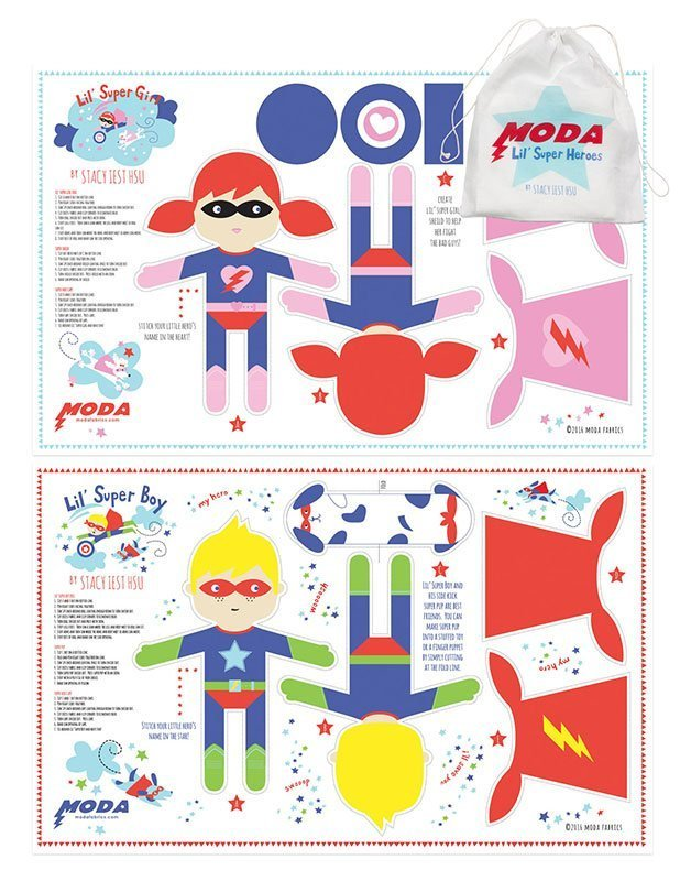Moda Lil' Super Heros