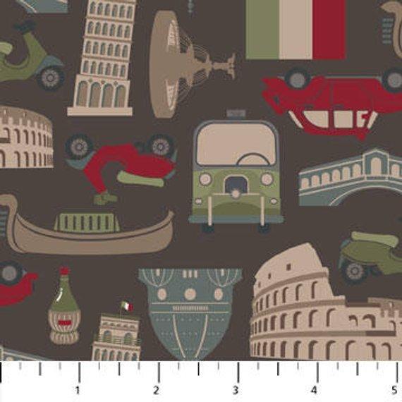 Northcott Destinations 22000 34 Tokens of Rome