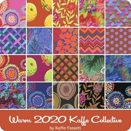 Free Spirit Kaffe Fasset Collective February 2020 FB3DSGP.F2020WARM